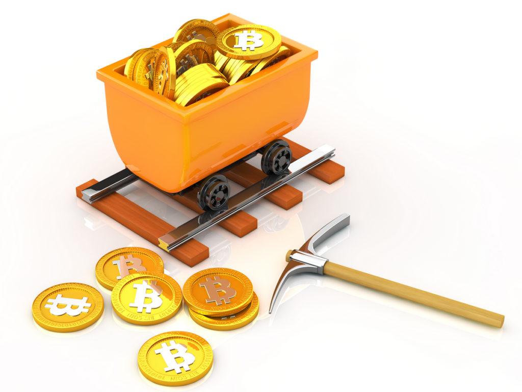 ビットコインを採掘で手に入れる